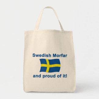 Proud Swedish Morfar (Grandfather) Tote Bag