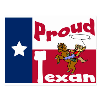 Proud Texan Postcard