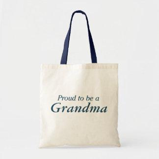 Proud to be a Grandma! Budget Tote Bag