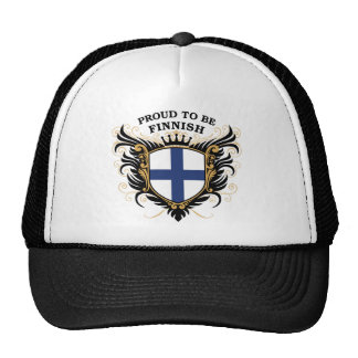 Proud to be Finnish Cap
