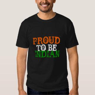 PROUD TO BE INDIAN SHIRT