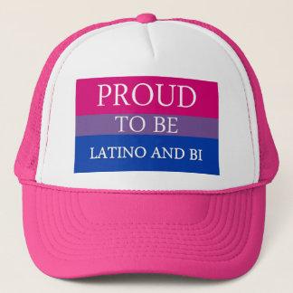 Proud To Be Latino and Bi Trucker Hat