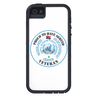 Proud to property served Lebanon UNIFIL Tough Xtreme iPhone 5 Case