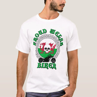 Proud Welsh Biker T-Shirt