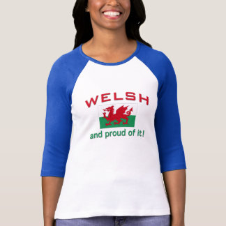 Proud Welsh T-Shirt