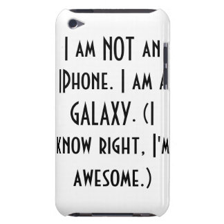 Proudly A Galaxy Barely There iPod Cases