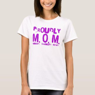 Proudly Mom T-Shirt
