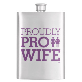 Proudly PRO WIFE Flask