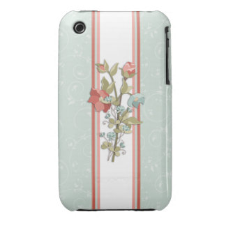 Provence Floral Case-Mate iPhone 3 Cases
