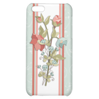 Provence Floral Cover For iPhone 5C