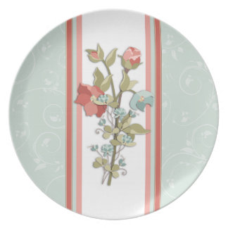 Provence Floral Plate