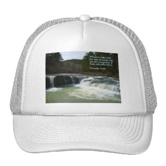Proverbs 13:20  Waterfall Cap