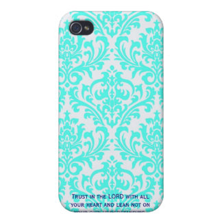 Proverbs 3:5  Modern Iphone case with Bible verse Case For The iPhone 4