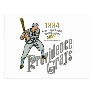 Providence Grays of Rhode Island Post Cards