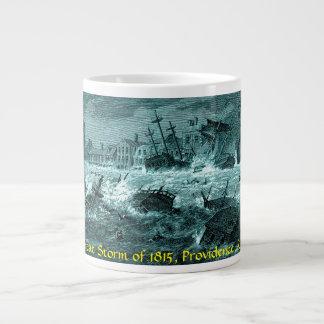 Providence, R.I. Great Storm of 1815 Mug Blue