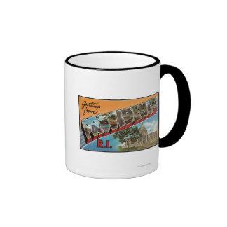 Providence, Rhode Island (Capital Building) Ringer Mug