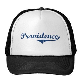 Providence Rhode Island Classic Design Hats