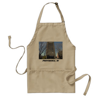 Providence, Rhode Island - College Hill Brutalist Standard Apron