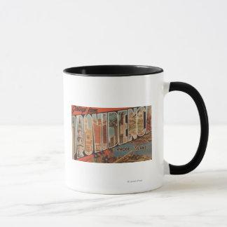 Providence, Rhode Island - Large Letter Scenes 2 Mug