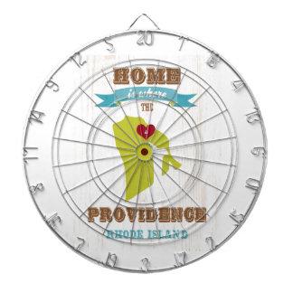 Providence, Rhode Island Map – Home Is Where Dartboard