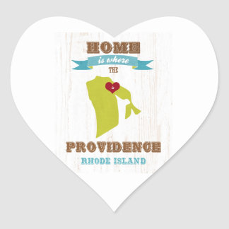 Providence, Rhode Island Map – Home Is Where Stickers