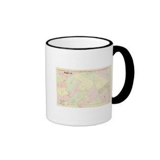 Providence Rhode Island Map Ringer Mug