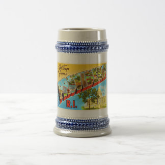 Providence Rhode Island RI Vintage Travel Souvenir Beer Steins