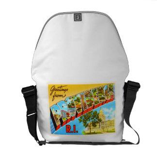 Providence Rhode Island RI Vintage Travel Souvenir Commuter Bags