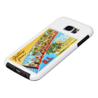 Providence Rhode Island RI Vintage Travel Souvenir Samsung Galaxy S6 Cases