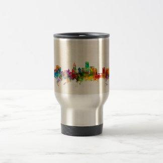 Providence Rhode Island Skyline Cityscape Coffee Mugs