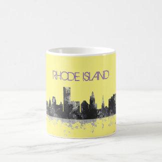 PROVIDENCE, RHODE ISLAND SKYLINE COFFEE MUG