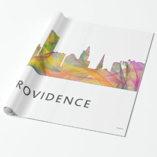 PROVIDENCE, RHODE ISLAND SKYLINE WB1 WRAPPING PAPER