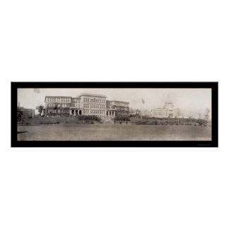 Providence, RI Capitol Photo 1909 Poster