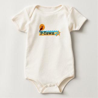 """Provincetown """"Beach"""" Design. Baby Bodysuit"""