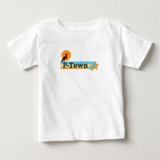 "Provincetown ""Beach"" Design. Baby T-Shirt"