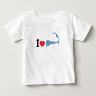 "Provincetown ""I Love"" Design. Baby T-Shirt"