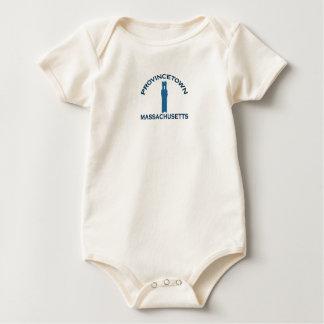"Provincetown ""Lighthouse"" Design. Baby Bodysuit"