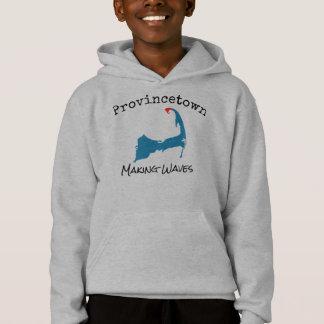 Provincetown Mass Making Waves boy's sweatshirt