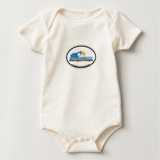Provincetown Oval Design. Baby Bodysuit