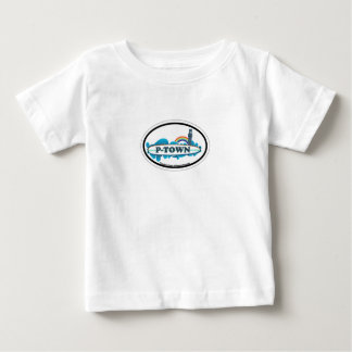 Provincetown Oval Design. Baby T-Shirt