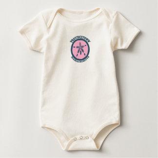 "Provincetown ""Sand Dollar"" Design. Baby Bodysuit"