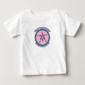 "Provincetown ""Sand Dollar"" Design. Baby T-Shirt"