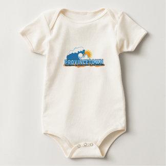 "Provincetown ""Waves"" Design. Baby Bodysuit"