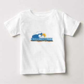 """Provincetown """"Waves"""" Design. Baby T-Shirt"""