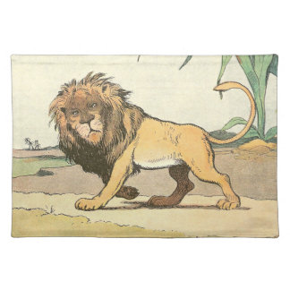 Prowling Lion Placemat