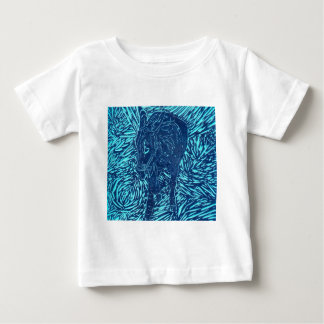 Prussian Blue Buford Baby T-Shirt