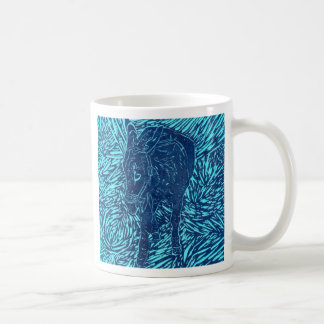 Prussian Blue Buford Basic White Mug