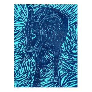 Prussian Blue Buford Postcard
