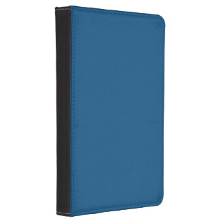 Prussian Blue colored Kindle Case