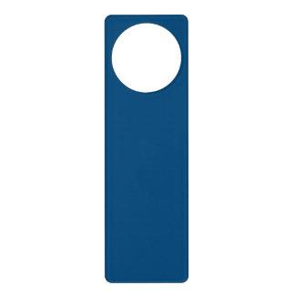 Prussian Blue colored Door Knob Hangers